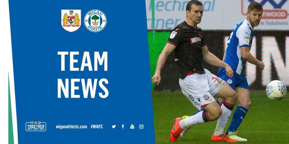 Wigan Athletic FC - EARLY TEAM NEWS: BRISTOL CITY V WIGAN