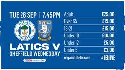 Sheffield Wednesday (H) Tickets